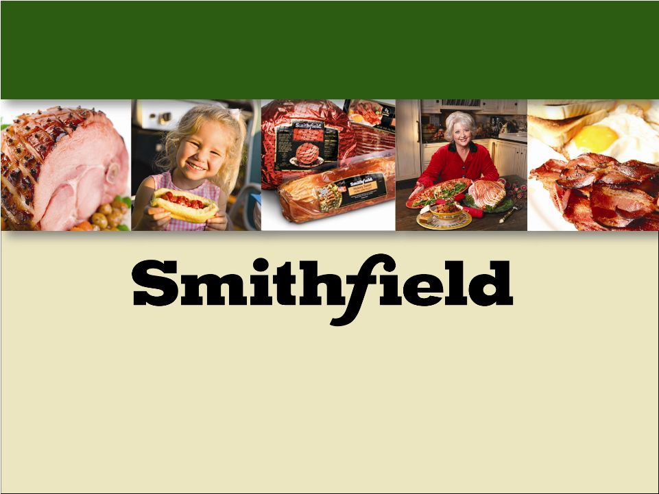 smithfield foods Smithfield foods verified account @smithfieldfoods we're a global food company and the world's largest pork processor and hog producer we make good food responsibly.